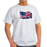 US UK Flag T-Shirt