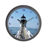 Lighthouse Breakwater Clock