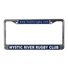 Mystic River License Plate Frame