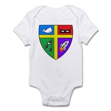 Knight Shield & Swords Infant Bodysuit