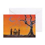 Happy Birthday Witch Greeting Card