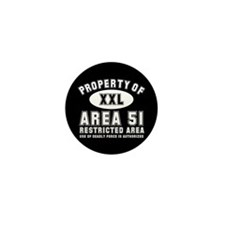 Area 51 Mini Button