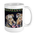 Airedale Terrier Dog Large Mug