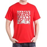 Square of Triangles T-shirt