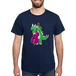 Stegosaurus Playing Double Bass T-shirt