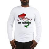 Little Italy San Francisco Long Sleeve T-Shirt