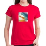 Comic Book Sky Women's T-shirt
