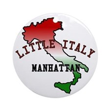 Little Italy Manhattan Ornament (Round)