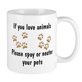 Love Animals Mug