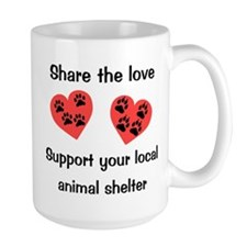 Share The Love Coffee Mug