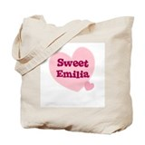Sweet Emilia Tote Bag