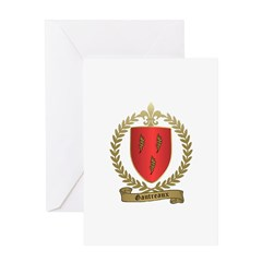 GAUTREAUX Family Crest Greeting Card