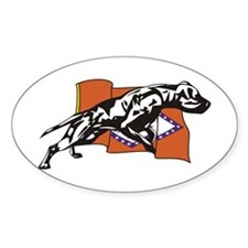 Alabama Logo Oval Decal