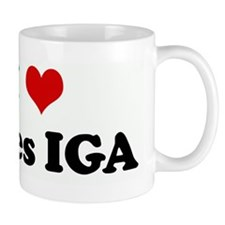 I Love Gales IGA Small Mug