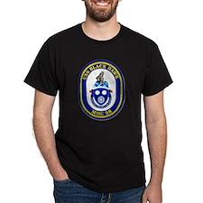 USS Black Hawk MHC 58 US Navy Ship T-Shirt