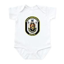 USS Benfold DDG 65 US Navy Ship Infant Bodysuit