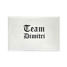 Team Dimitri Style #1 Rectangle Magnet (100 pack)