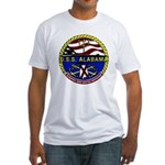 USS Alabama SSBN 731 US Navy Ship Fitted T-Shirt