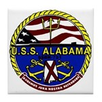 USS Alabama SSBN 731 US Navy Ship Tile Coaster