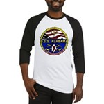 USS Alabama SSBN 731 US Navy Ship Baseball Jersey