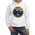 USS Alabama SSBN 731 US Navy Ship Hooded Sweatshir