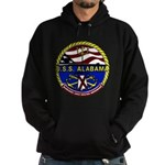USS Alabama SSBN 731 US Navy Ship Hoodie (dark)