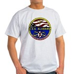 USS Alabama SSBN 731 US Navy Ship Light T-Shirt