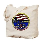 USS Alabama SSBN 731 US Navy Ship Tote Bag
