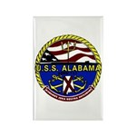 USS Alabama SSBN 731 US Navy Ship Rectangle Magnet