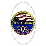 USS Alabama SSBN 731 US Navy Ship Sticker (Oval 10