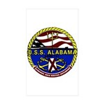 USS Alabama SSBN 731 US Navy Ship Sticker (Rectang
