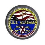 USS Alabama SSBN 731 US Navy Ship Wall Clock