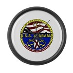 USS Alabama SSBN 731 US Navy Ship Large Wall Clock