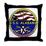 USS Alabama SSBN 731 US Navy Ship Throw Pillow