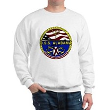 USS Alabama SSBN 731 US Navy Ship Sweatshirt