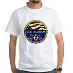 USS Alabama SSBN 731 US Navy Ship White T-Shirt