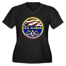USS Alabama SSBN 731 US Navy Ship Women's Plus Siz
