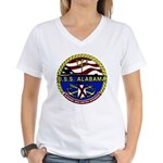 USS Alabama SSBN 731 US Navy Ship Women's V-Neck T