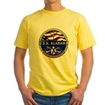 USS Alabama SSBN 731 US Navy Ship Yellow T-Shirt