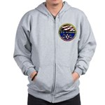 USS Alabama SSBN 731 US Navy Ship Zip Hoodie