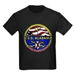USS Alabama SSBN 731 US Navy Ship Kids Dark T-Shir