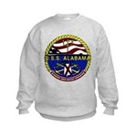 USS Alabama SSBN 731 US Navy Ship Kids Sweatshirt