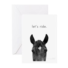 Let's Ride print by Ed Wood Greeting Cards (Pk of