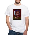 Behind Trick White T-Shirt
