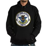 USS Carl Vinson CVN 70 US Navy Ship Hoodie (dark)