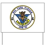 USS Carl Vinson CVN 70 US Navy Ship Yard Sign