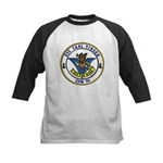 USS Carl Vinson CVN 70 US Navy Ship Kids Baseball 