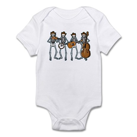 Cowboy Music Skeletons Infant Bodysuit
