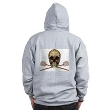 Bass Drum Pirate Zip Hoodie