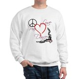 Peace Love Dance Sweater